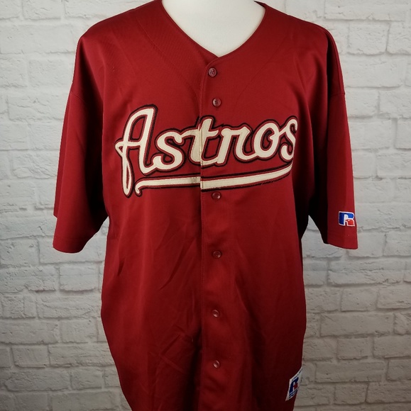 los angeles 43755 4bf7a Houston Astros Jeff Bagwell #5 Baseball Jersey